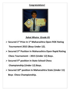 Our Young Chess Master 2015