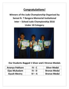 Our Judo Champions 2016
