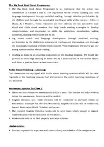 Class I – Important School Information