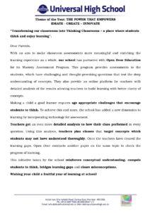 Classes IV – VIII – Open Door Education
