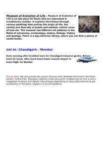 Classes VI to IX – Educational Trip to Amritsar-Chandigarh