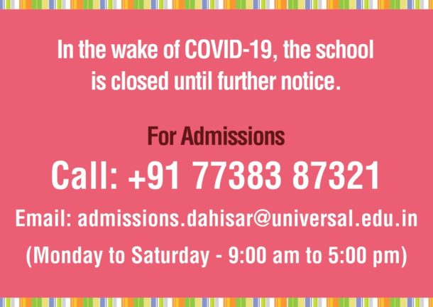 Classes IV to V – Important School Information